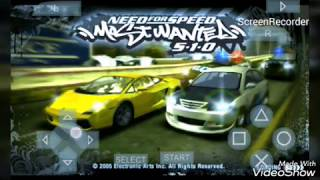 Settingan need for speed most wanted ,biar HD and lancar