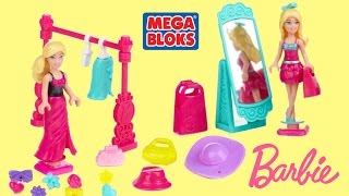 barbie life in the dreamhouse megabloks barbie fashion boutique barbie fashion dress up doll