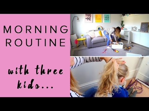MORNING ROUTINE | MUM/MOM OF THREE | SCHOOL RUN AND BABY