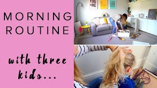 MORNING ROUTINE   MUM/MOM OF THREE   SCHOOL RUN AND BABY