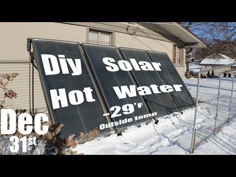 Diy Solar Hot Water System Overview and Operation!!!