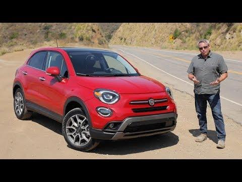 2019 Fiat 500x Trekking Plus Test Drive Video Review Youtube