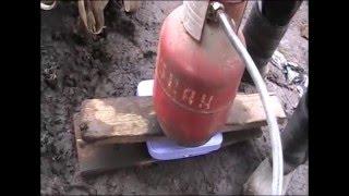 видео заправка баллонов газом