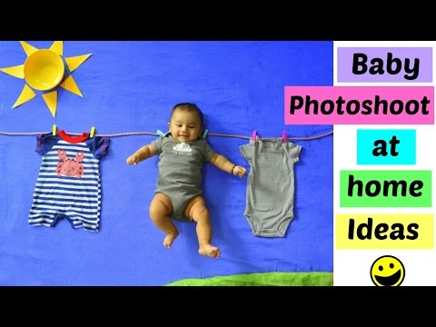 Baby Photoshoot at Home Ideas: You will love this !!