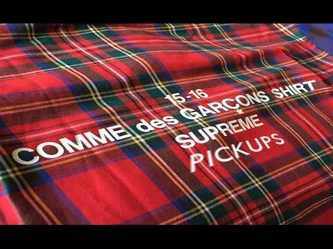 d6b2944ac284 Supreme x COMME des GARCONS Shirt FW 2015- Review - YouTube