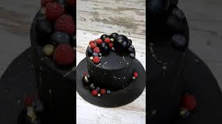 Черный торт