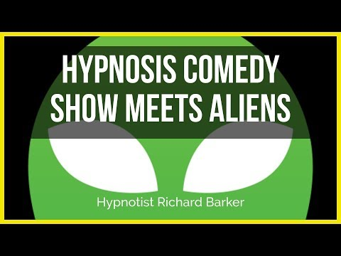 Hypnosis Comedy Show Meets Aliens