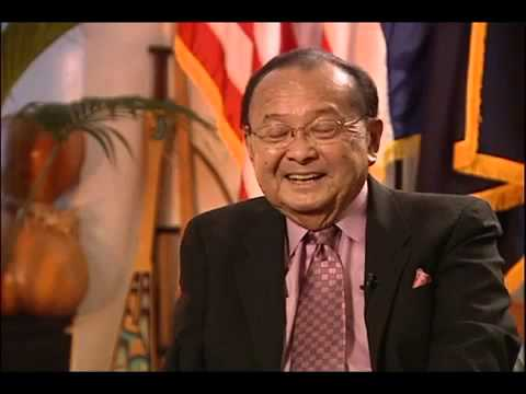Exclusive Interview with Sen. Daniel Inouye Pt. 1