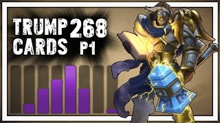 Hearthstone: Trump Cards - 268 - The Strongest Class - Part 1 (Paladin Arena)