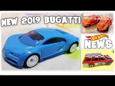 NEW 2019 Hot Wheels Bugatti Chiron & More!! Hot Wheels News