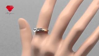 Bije.ru: Кольцо для помолвки с золотым покрытием и фианитами Shanae (Шэни)(, 2014-07-03T08:24:27.000Z)