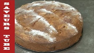How to make a Caramelised Apple Cake with TV Chef Julien Picamil from Saveurs Dartmouth uk
