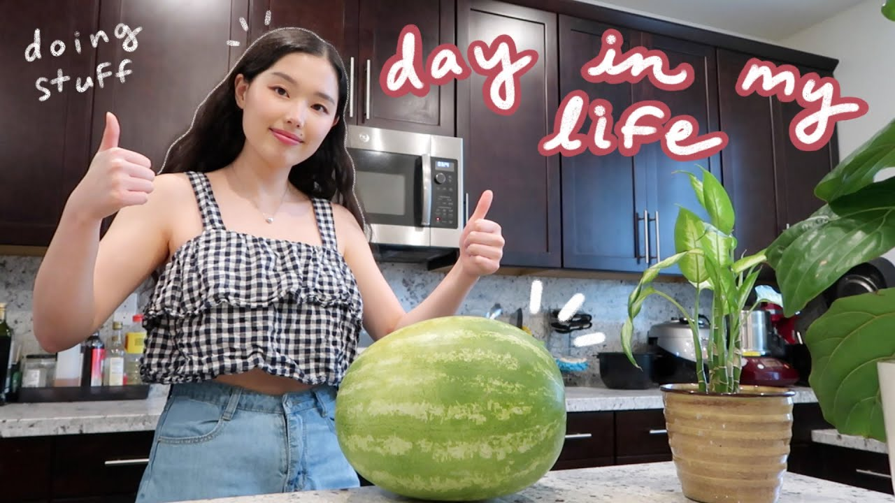 day in my life vlog: getting my life together, bullet journaling, the small things 🍉