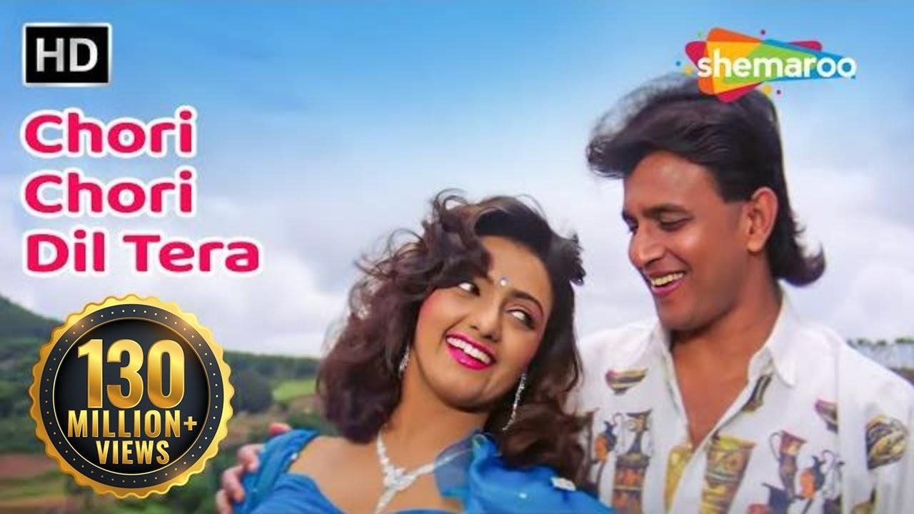 Download Chori Chori Dil Tera   Phool Aur Angaar (1993)   Mithun Chakraborty   Shantipriya   Romantic Song