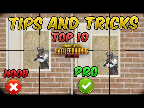 Top 10 Tips & Tricks in PUBG Mobile that Everyone Should Know (From NOOB TO PRO) Guide #9
