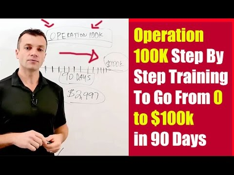 Four Percent Operation 100k Review How to go from $0 to $100k in 90 days