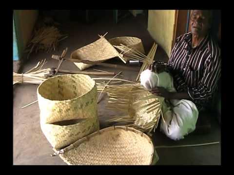 Income generation through bambo craft making odia pragati for Crafts using bamboo