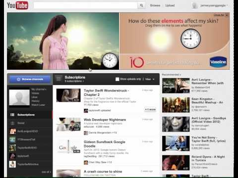 Vaseline Interactive Masthead - Malaysia