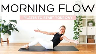 30 MIN MORNING FLOW | PILATES TO START YOUR DAY