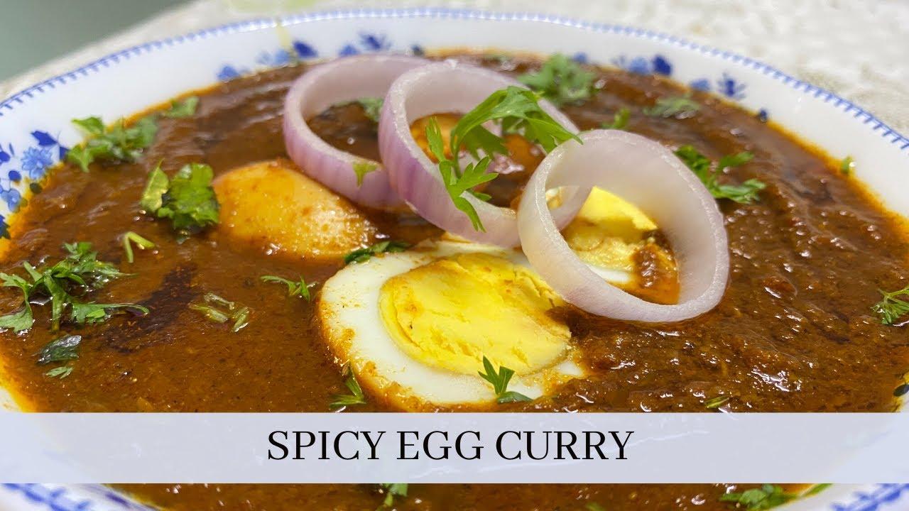 Egg Curry | अंडा करी |Medha's Recipes | Easy to Make | Tasty & Spicy