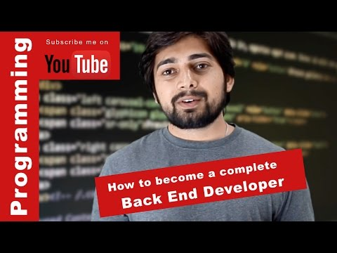 How to become a complete backend developer