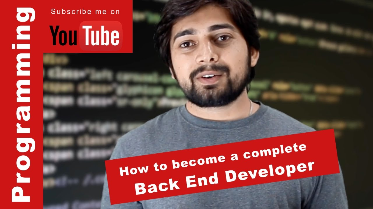How to become a complete backend developer by Hitesh Choudhary