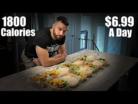 1800 Calorie Meal Plan | $6.99/ Day | Fat Loss Or Muscle Gain