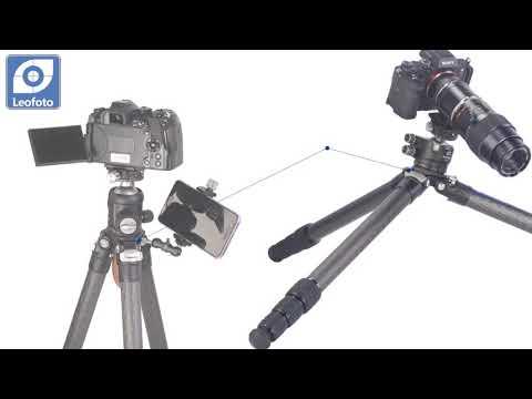 Nest NT 270 Pro Video Cámara Trípode Con Cabezal Heavy Duty 188 Cm Altura Máxima