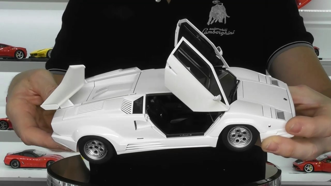 Lamborghini Countach 25th Anniversary By Autoart Models Full