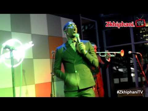 Zakes Bantwini performs BANG BANG BANG at Universal Music