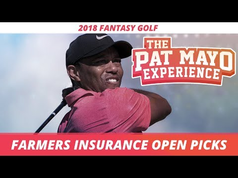 Fantasy Golf Picks: 2018 Farmers Insurance Open Picks, Sleepers and Tiger Woods