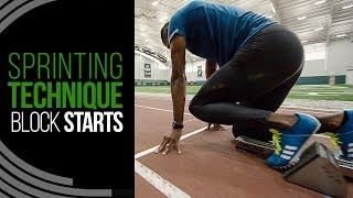 Sprinting Technique   Maximizing Block Starts