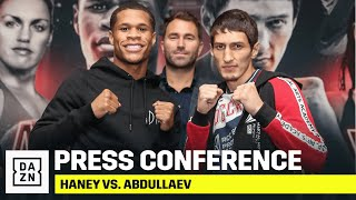 Haney vs. Abdullaev Final Press Conference