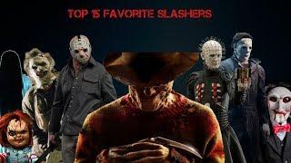 My Top 15 Favorite Slashers / Horror movies Villains streaming