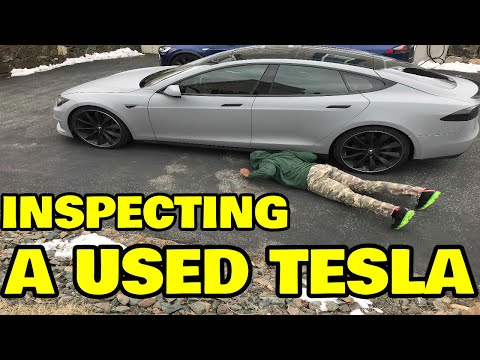 How to Inspect a used Tesla before buying