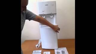 Кулер для воды с холодильником VATTEN V16WKB
