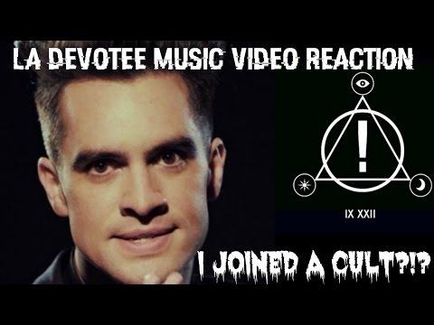LA DEVOTEE MUSIC VIDEO REACTION | I JOINED A CULT FOR PANIC! AT THE DISCO!?