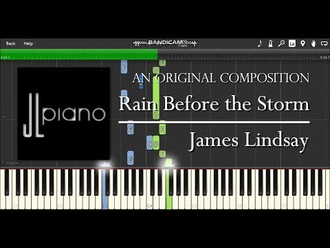 Rain Before the Storm - James Lindsay (Synthesia Piano Solo)