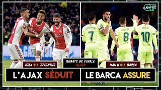 Manchester United 0-1 FC Barcelone / Ajax 1-1 Juventus (Debriefs matchs aller)