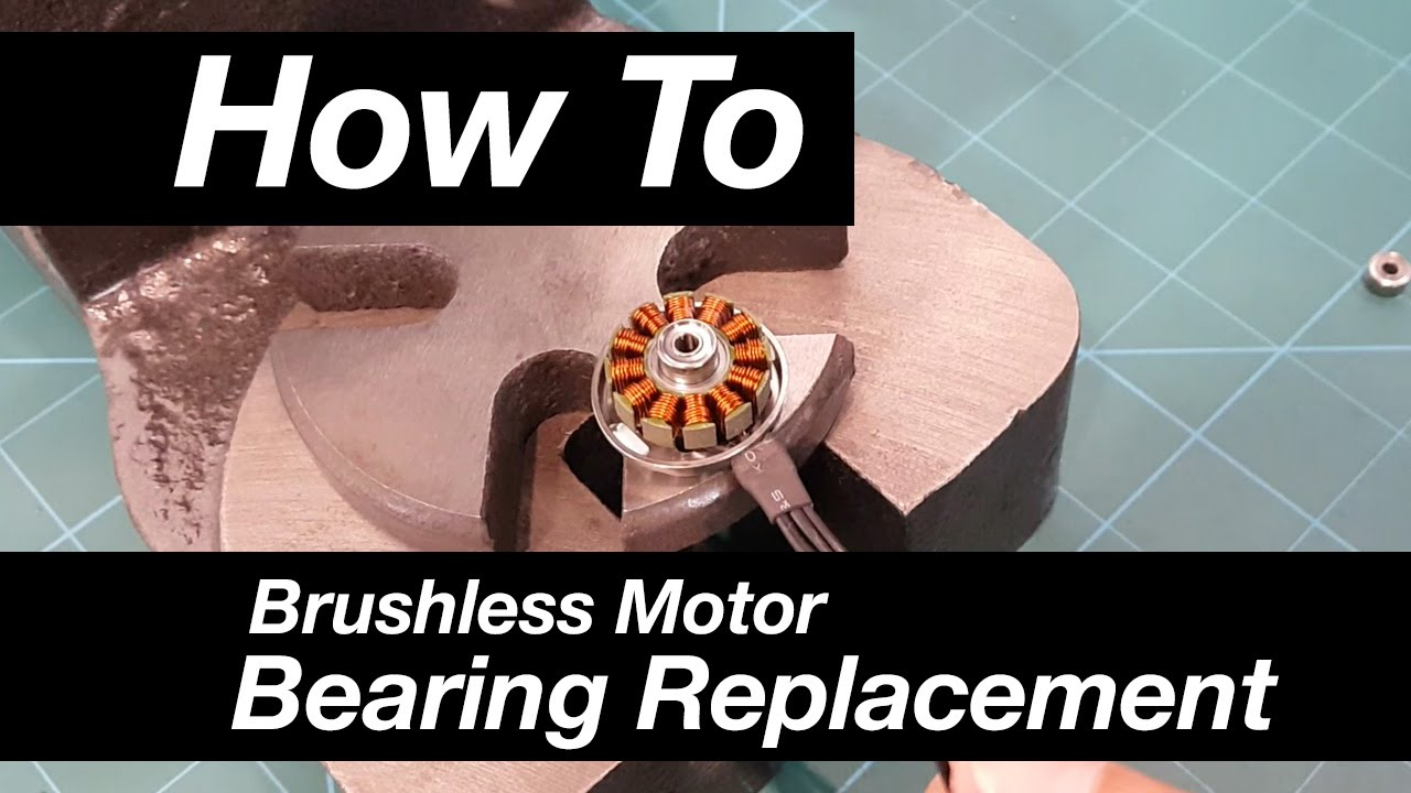 How to brushless motor bearing replacement youtube for Brushless motor ceramic bearings