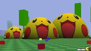 Biome3d The New Awesome Pikachu Skin 3D Agar.io (Biome3d - Agario 3D Clone)