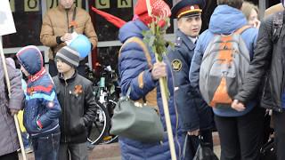 Смуглянка. Бессмертный полк. Соликамск. 2017