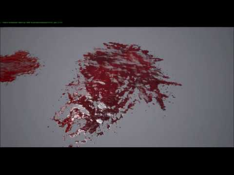 Blood Splat Decal Tutorial - From Photoshop to Unreal Engine 4 #1