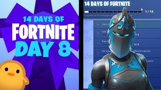 Take The Elf Emote Bug | 14 Days Of Fortnite (Day 8 Rewards) - Fortnite Battle Royale (Mobile) Live!