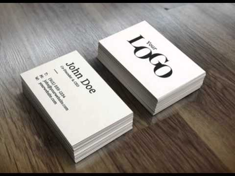 Realistic Business Card Mockup Template YouTube - Business card mockup template