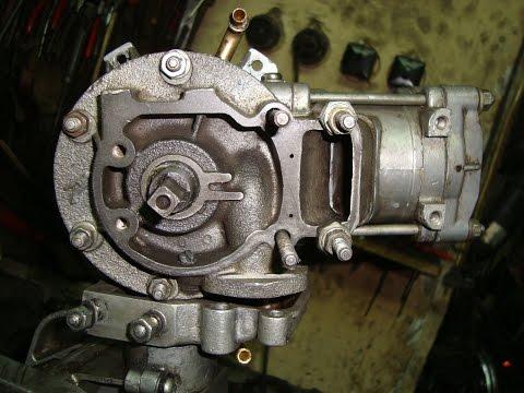 Лодочный мотор САЛЮТ (сборка с подробностями).