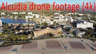 Alcudia Mallorca drone footage (4K)