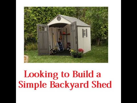 How to build a cheap outdoor storage shed youtube for How much will it cost to build a shed