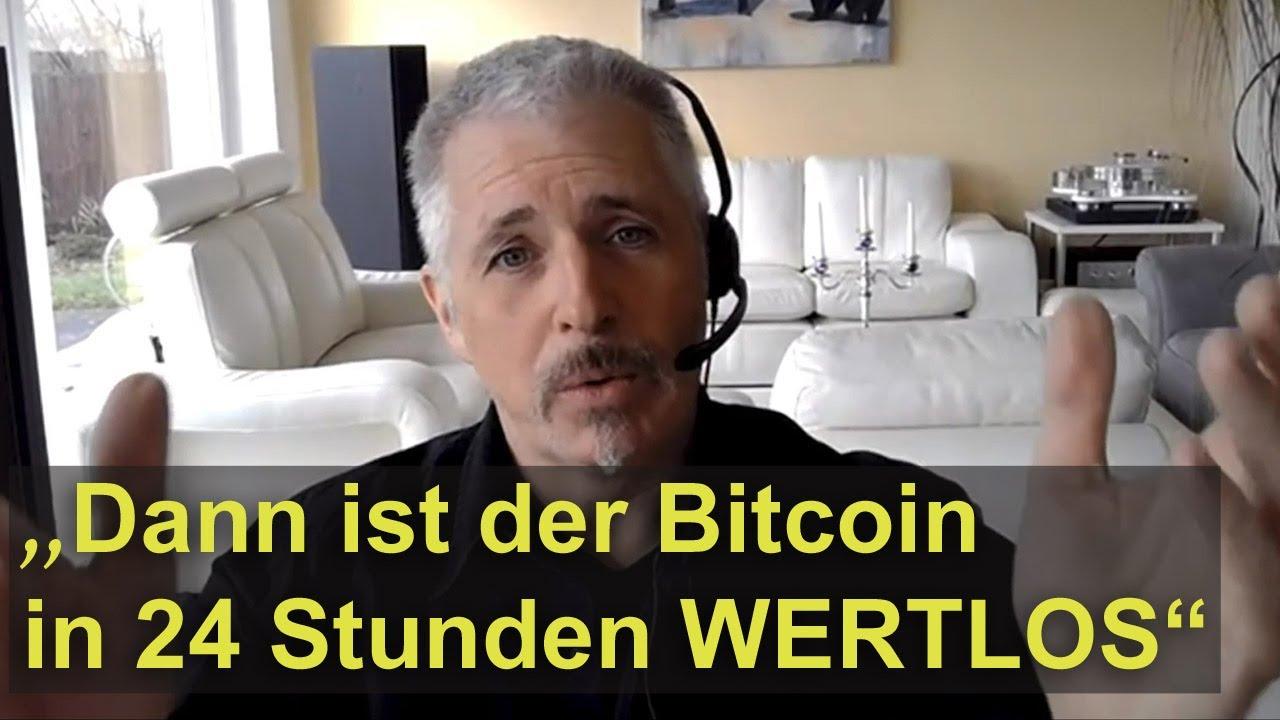 Dirk Müller: Der Bitcoin ist ein Wahnsinn!