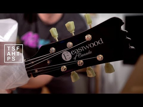 Unboxing & First Impression Of Stuff....from Eastwood Guitars